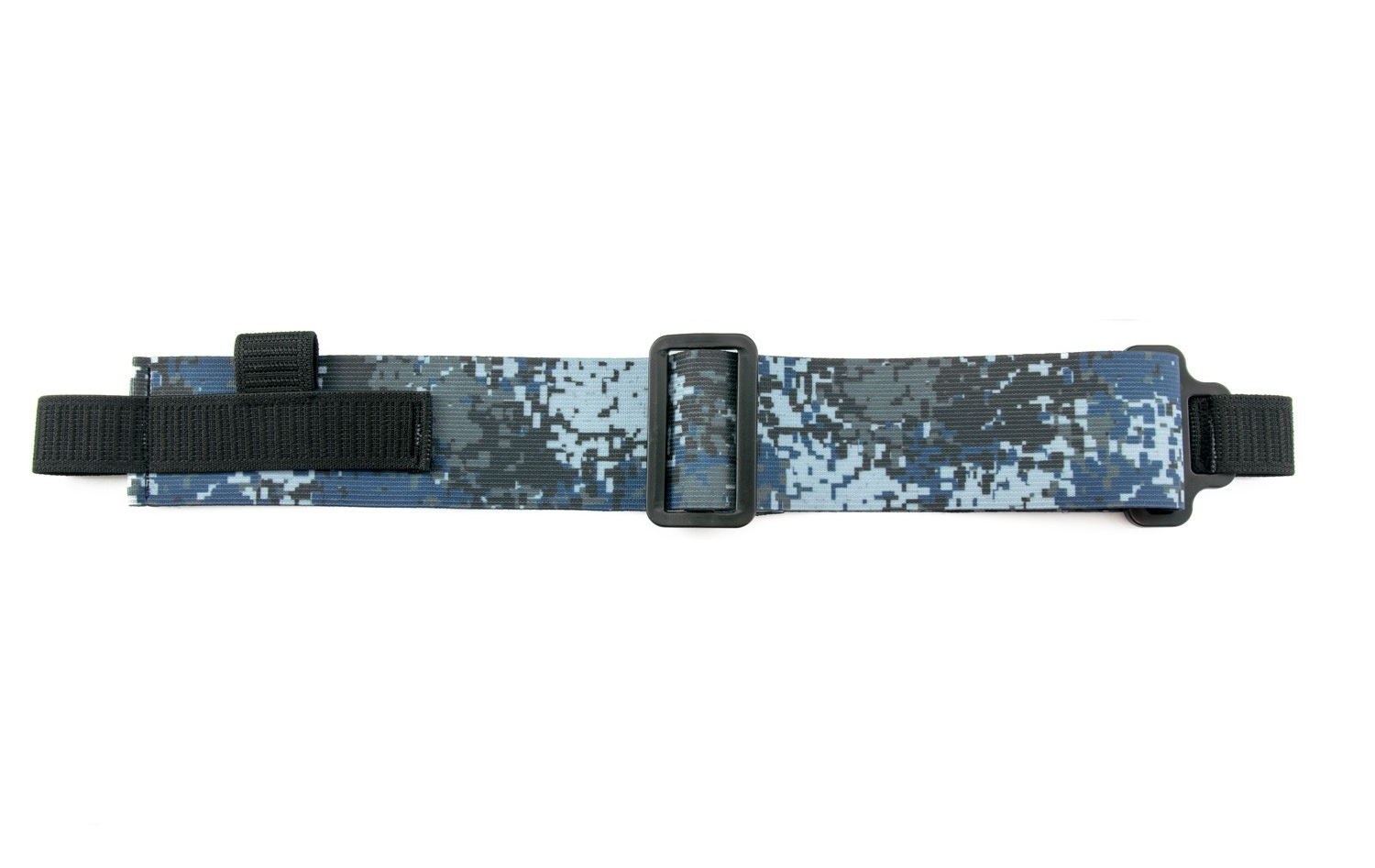 FatStraps FPV Goggles Head Strap (48mm Wide)Blue Camo