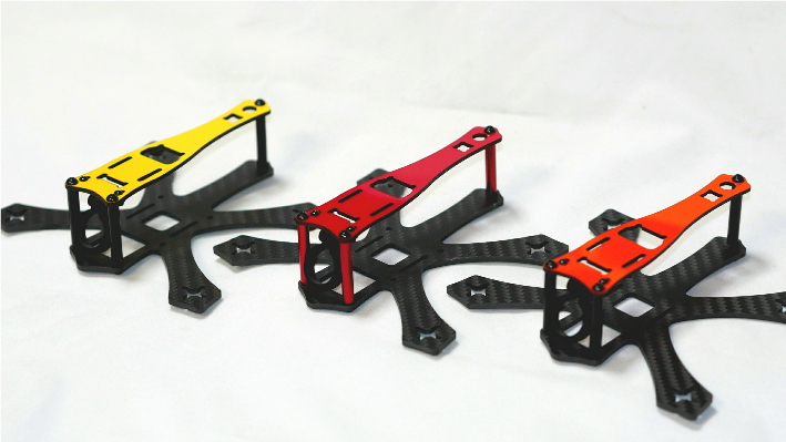 Vespa125 FPV Quadcopter CF Frame Kit