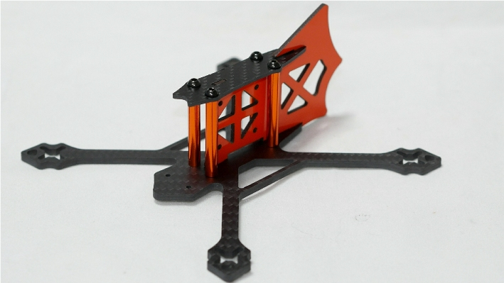 Vespa145V Racing Quad 4.0mm CF Frame Kit - ウインドウを閉じる